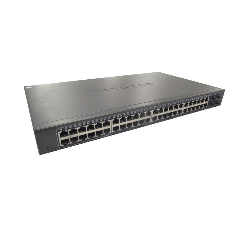 GS748T NetGear  ProSafe 48-Ports Switch Managed Includes Ears and Power Cable