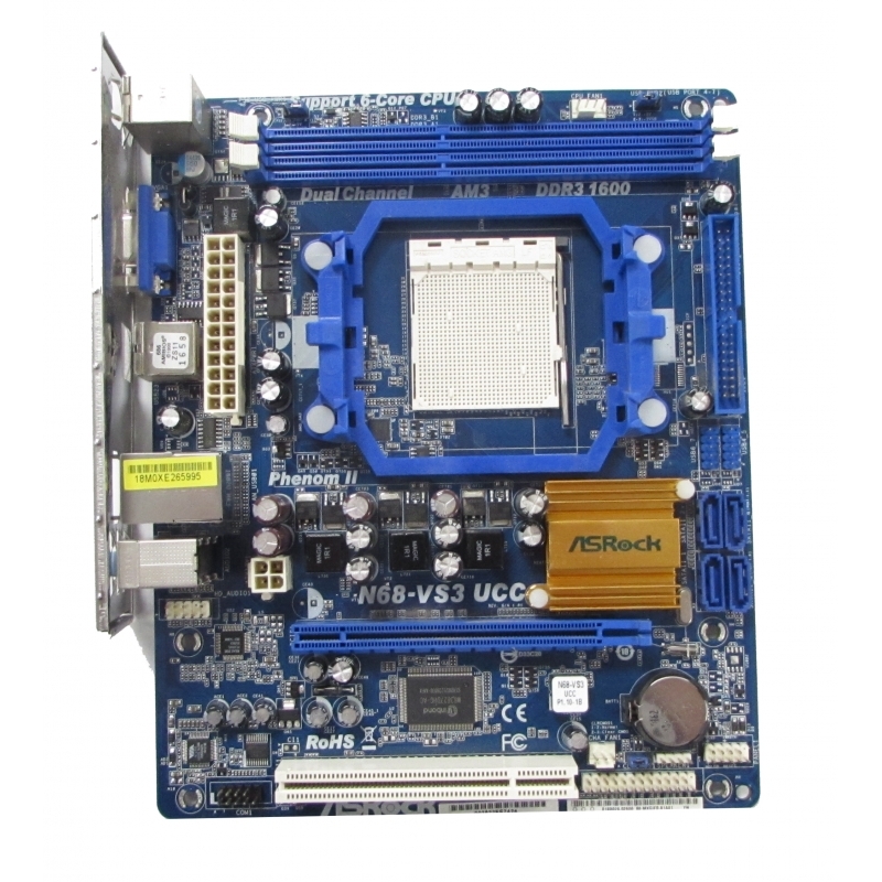 Asrock N68-VS3 UCC Drivers for Windows 7