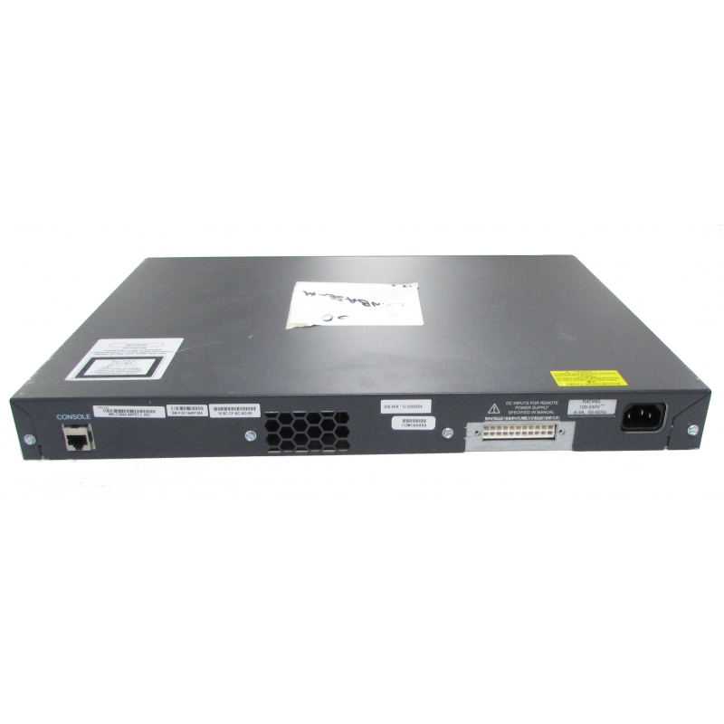Cisco Catalyst 2960 WS-C2960-48PST-L V03 48 Port PoE Switch
