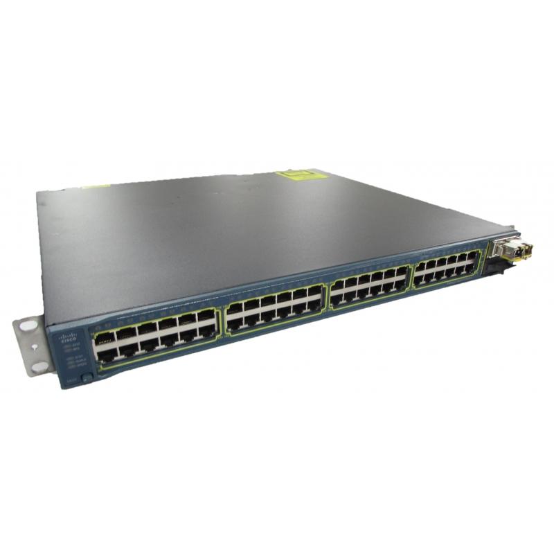 Cisco Catalyst WS-C3560E-48TD-S V03 48 Port Switch + 1x 10Gb