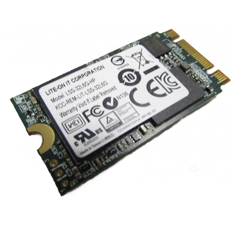 HP Lite-On 32GB M.2 SSD  M2  used