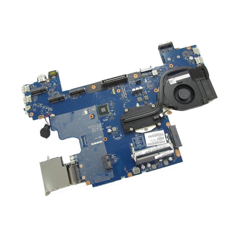 Dell Latitude E6540 Motherboard F51F5, Heatsink and Fan