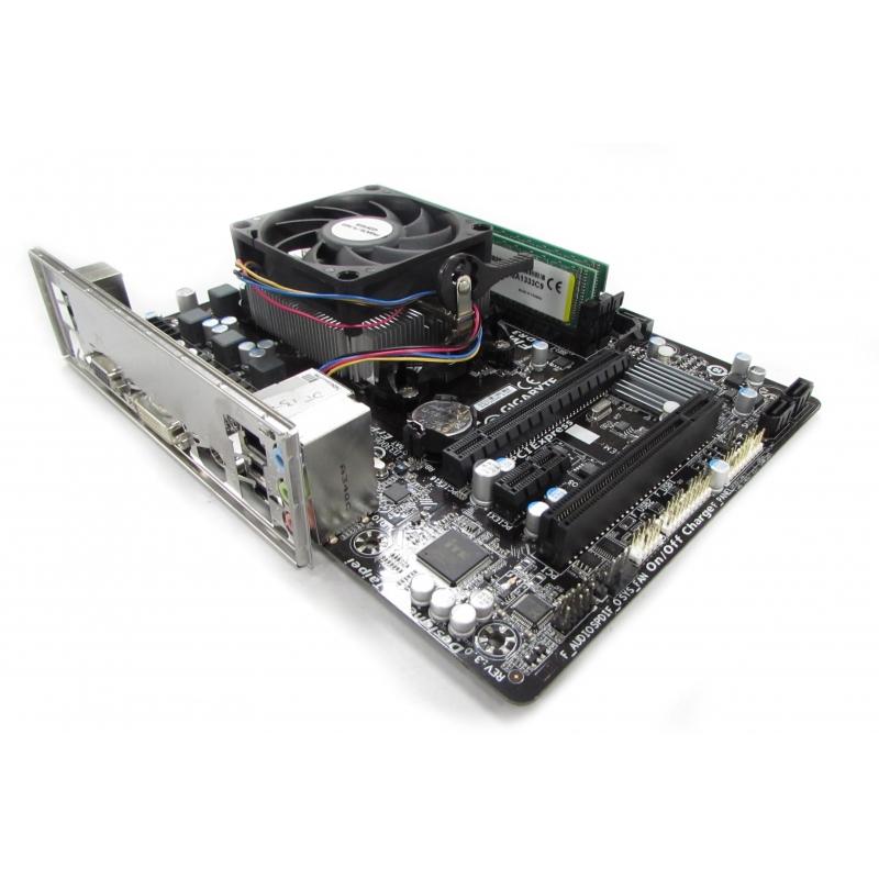 Gigabyte Ga F2a55m Hd2 Socket Fm2 With Amd A4 6300 Apu 8gb Ram Bundle Motherboards