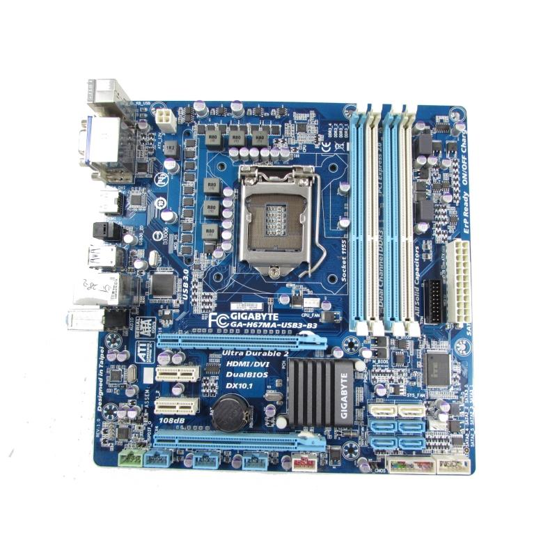 Gigabyte GA-H67N-USB3-B3 AutoGreen Windows 7 64-BIT