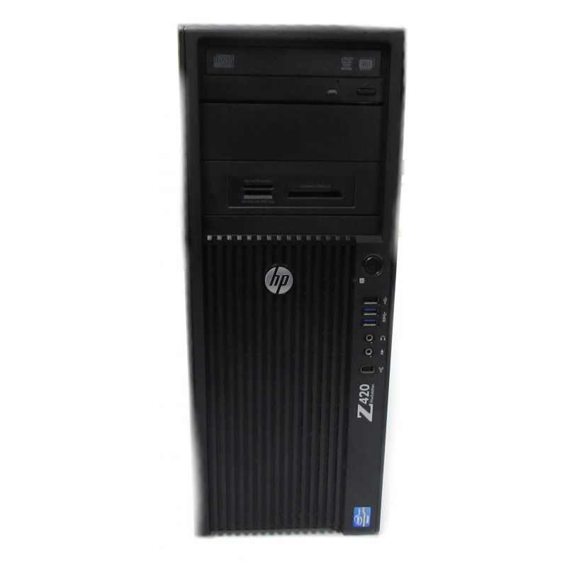 HP Z420 Workstation, Xeon E5-1603 2 8GHz, 16GB RAM (No HDD