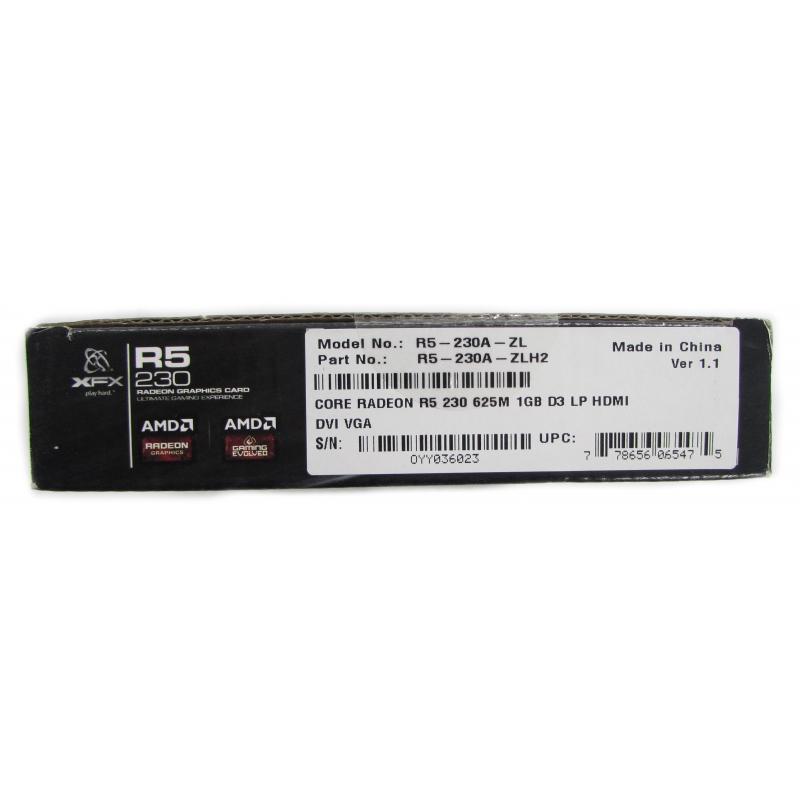 XFX R5 230 Core Radeon 625M 1GB D3 LP HDMI Graphics Card Graphics Cards