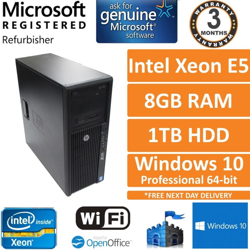 HP Z420 Intel Xeon E5-1620 @ 3 6GHz 8GB 1TB Quadro 4000