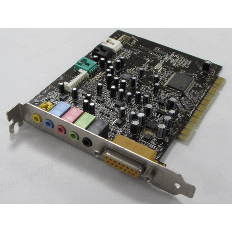 Creative Sound Blaster Live! SB0200 Surround PCI Sound Card