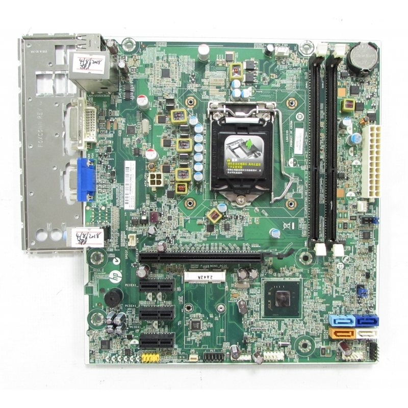 HP Pro 3500 LGA1155 Motherboard 696234-001 with I/O Shield