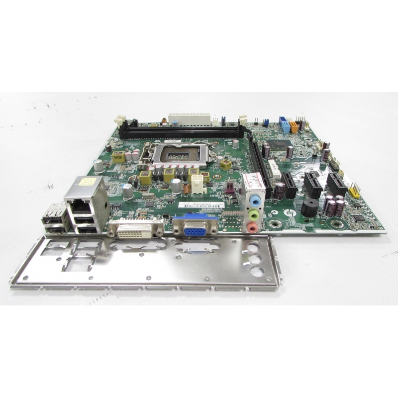 HP Pro 3500 LGA1155 Motherboard 682953-001 with I/O Shield