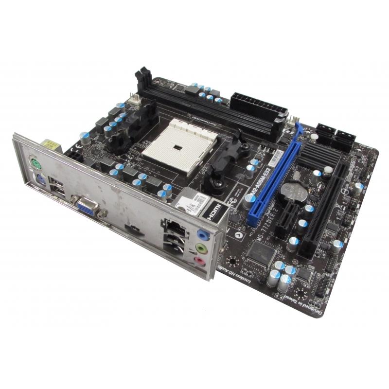 MSI FM2-A55M-E33 MS-7721 v2 3 Socket FM2 A55 DDR3 mATX Motherboard w