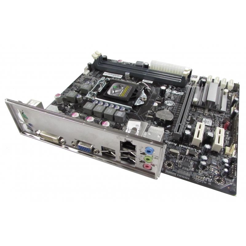 Elite ECS H61H2-M2 v1 0 LGA1155 H61 DDR3 PCIe 3 0 mATX Motherboard w