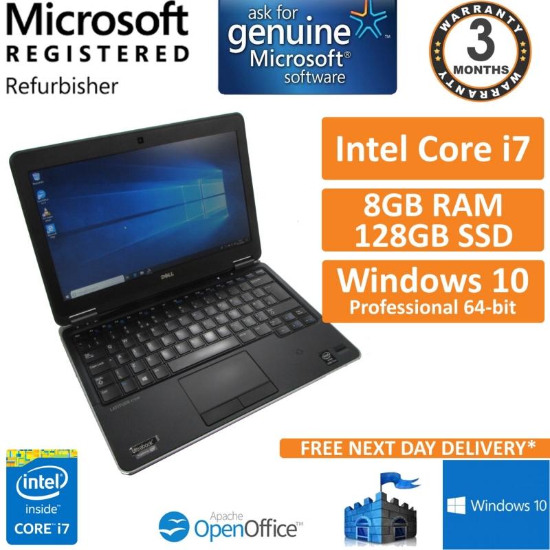 Dell Latitude E7240, Core i7-4600u @ 2 1GHz, 8GB 128GB SSD