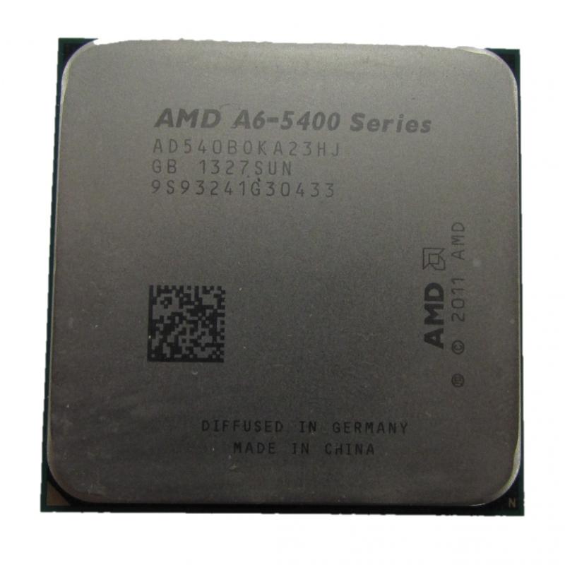 AMD A6 5400B AD540BOKA23HJ 36GHz Socket FM2 CPU CPU Processors