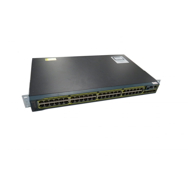 Cisco WS-C2960S-48TS-L V03 48-Port Gigabit Switch 10/100