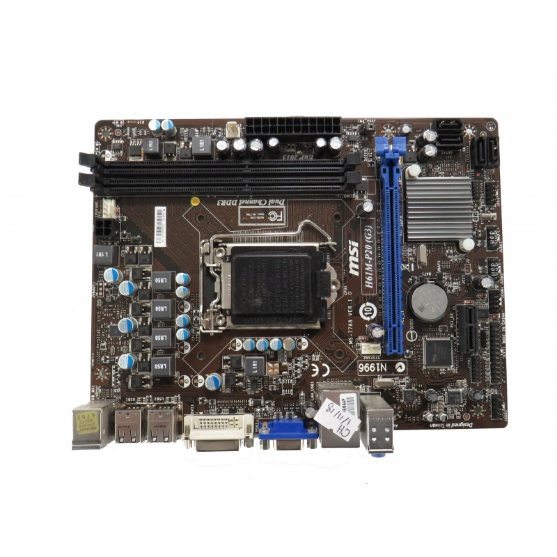 H61M-P20 G3 MS-7788 DRIVER FOR PC