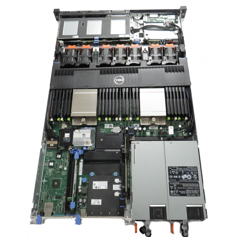 Dell PowerEdge R620 2 x Xeon 8-Core E5-2650 @ 2 0GHz 16GB No