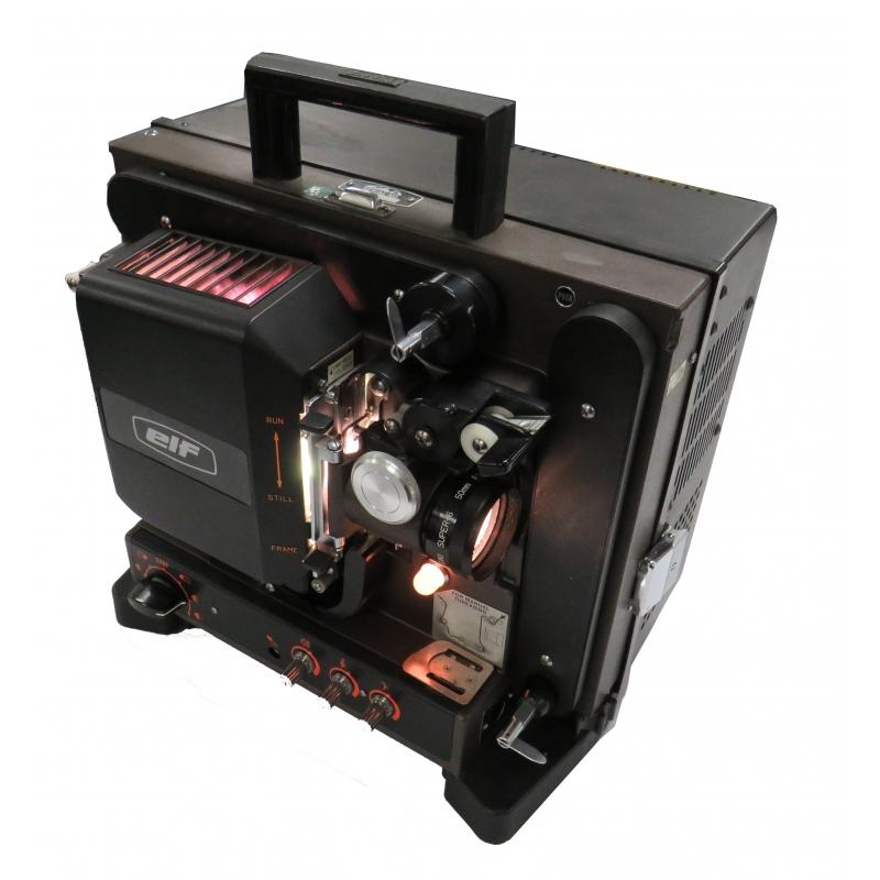 Elf Eiki NT-1 16mm Film Projector w/ Sound in Case Vintage