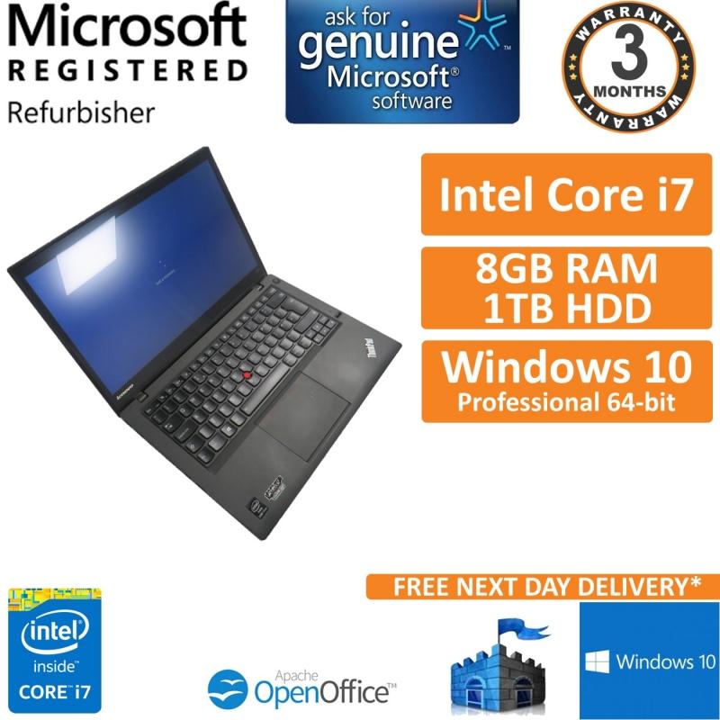 Lenovo Thinkpad T440s Core i7-4600u 2 1GHz 8GB 1TB HDD Win