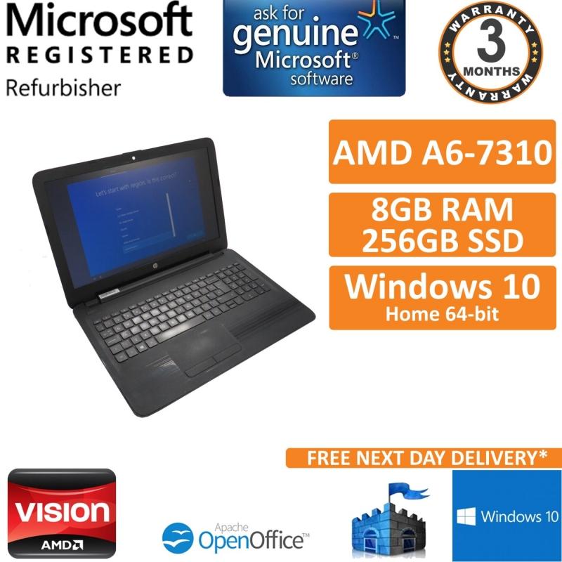 HP 255 G5 AMD A6-7310 2GHz, 8GB, 256GB SSD Win 10 15 6