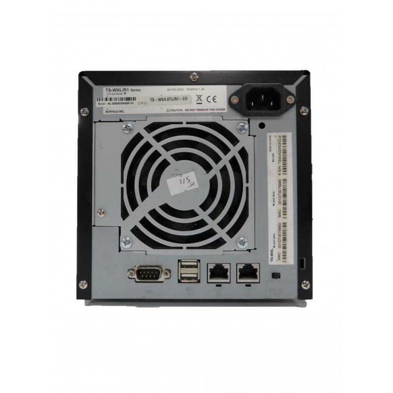 Buffalo Terastation TS-WXL/R1 2 Bay NAS Array (2x 500GB, No