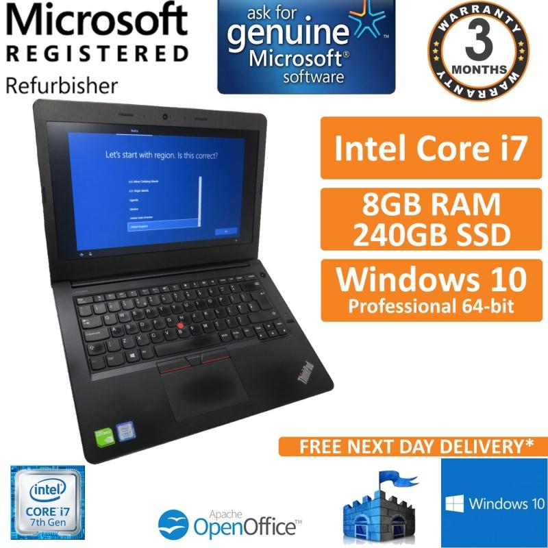 Details about Lenovo ThinkPad E470 Intel Core i7-7500U 2 7GHz 8GB 240GB  Windows 10 Laptop