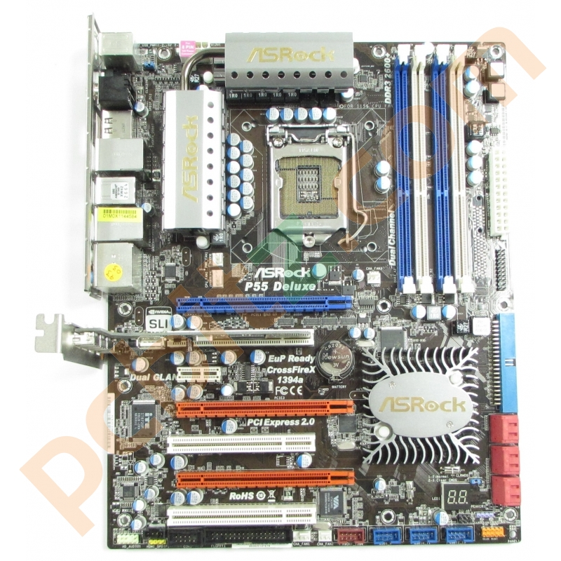 ASROCK P55 DELUXE MOTHERBOARD DRIVER DOWNLOAD FREE