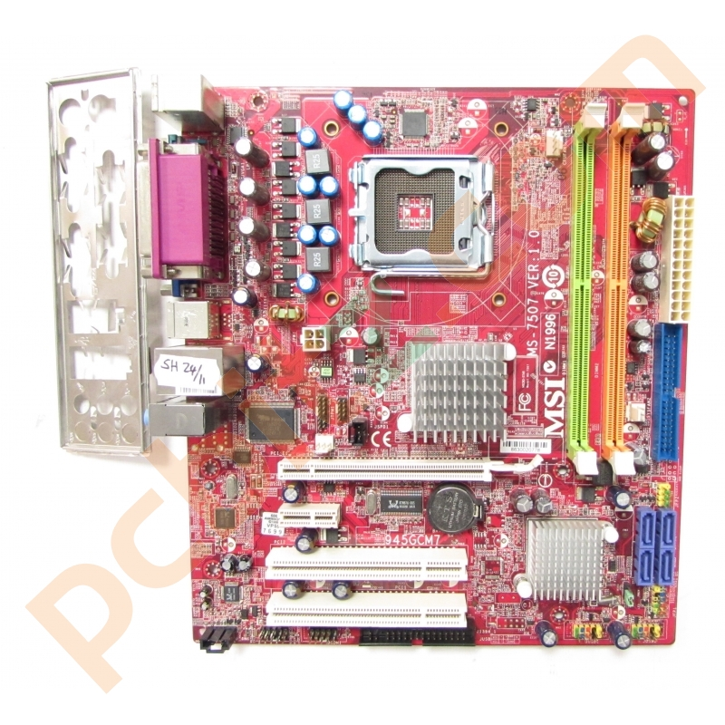 DRIVERS FOR MSI N1996 MS 7507 VER 1.0 MOTHERBOARD
