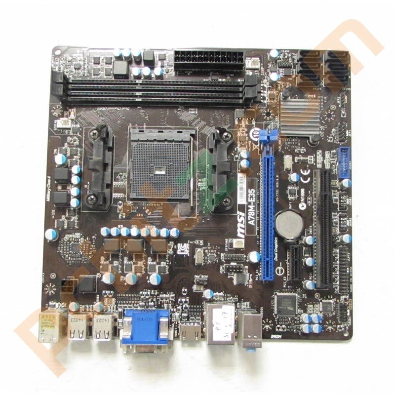 MSI A78M-E35 MS-7721 Socket FM2+ AMD Motherboard Without