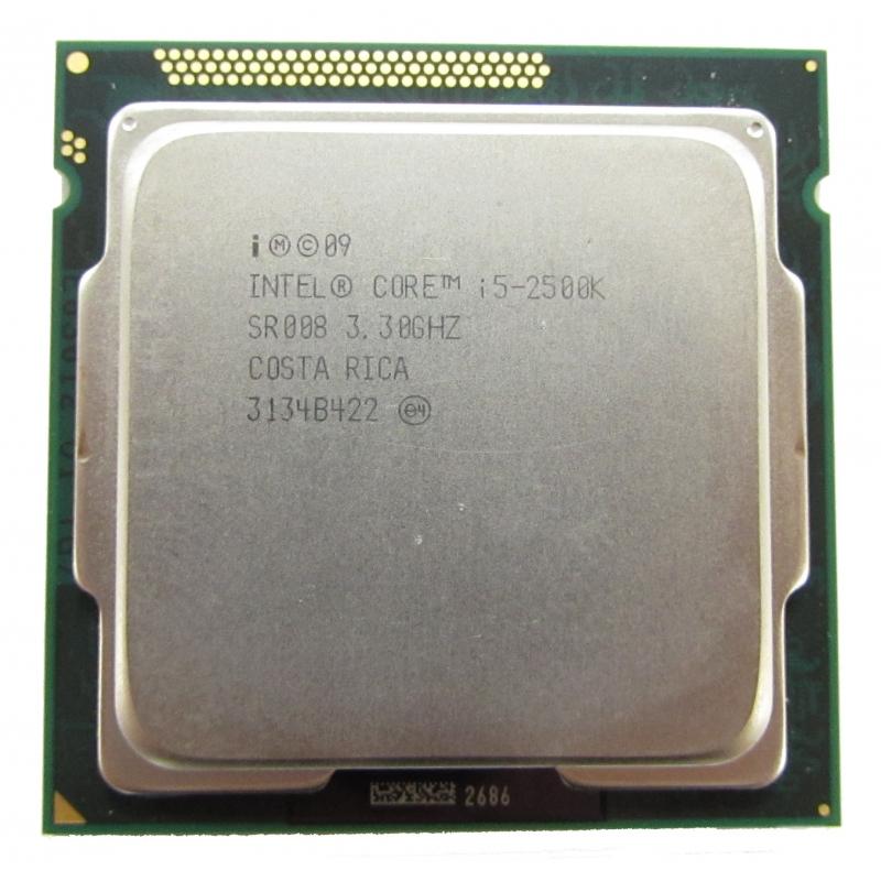Intel Core i5-2500K SR008 3.30GHz Socket 1155 CPU CPU / Processors