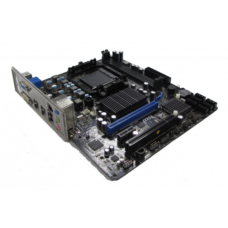 MSI MS-7641 Ver  3 0 760GM-P23 (FX) Motherboard Socket AM3+ with