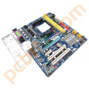 Gigabyte GA-M61PME-S2P REV 1.0 Socket AM2 Motherboard With BP