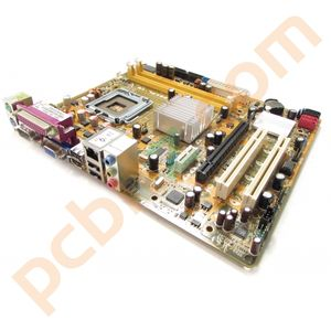 Asus P5KPL-VM Rev. 4.01G microATX LGA775 Core 2 Motherboard DDR2 G31 with BP