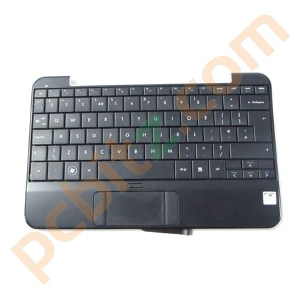 Compaq Mini 700 UK Keyboard and Palm Rest 496688-031