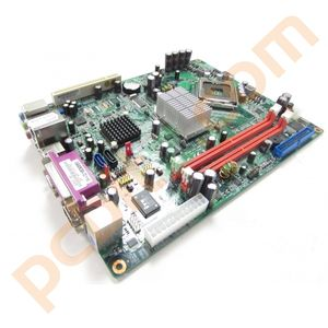 NEC PowerMate ML460 ECS Q965T-NP Rev 1.0 LGA775 Motherboard No BP