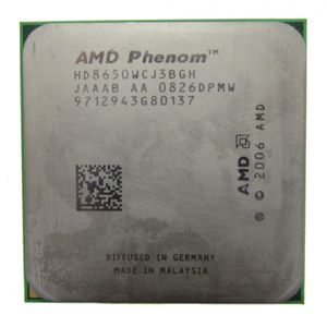 AMD Phenom X3 8650 HD8650WCJ3BGH 2.30GHz Socket AM2/AM2+ CPU