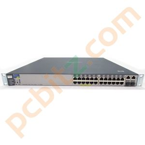 HP ProCurve Switch 2626-PWR J8164A 24 Port PoE with 2 mGBIC 1000Mbps