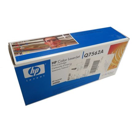 New Genuine HP LaserJet 3000 Q7562A Yellow Toner Cartridge