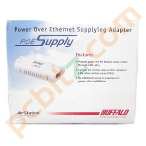 Buffalo AirStation Power Over Ethernet Supplying Adapter WLE-POE-S-1