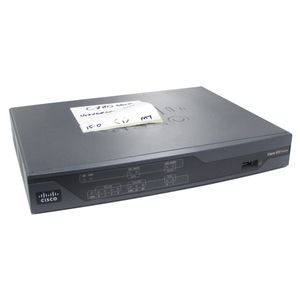Cisco 887-K9 V01 Integrated Services Router (No AC Adapter)