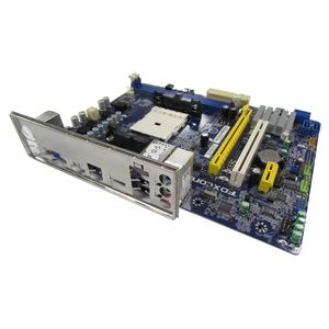 Foxconn A55MX Socket FM1 Motherboard With BP