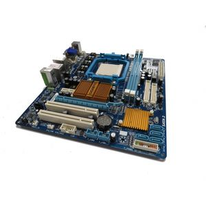 Gigabyte GA-MA74GM-S2H REV 4.0 Socket AM2+ Motherboard No BP