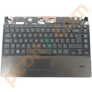 HP 4320s Motherboard in Base with Palmrest and Keyboard 599520-001