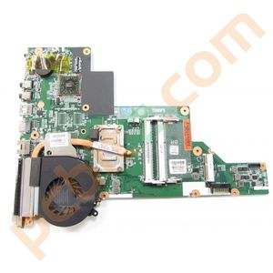 HP 635 Notebook Motherboard + AMD E-450 1.65GHz Heatsink and Fan 661340-001