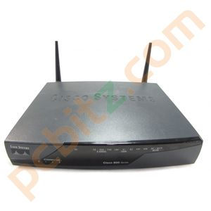 Cisco 878W-G-E-M-K9 Wireless Integrated Services Router + AC Adapter