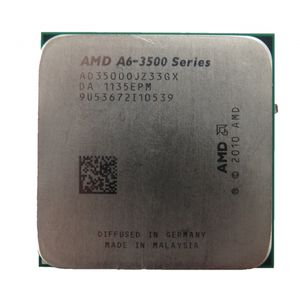 AMD A6-3500 Series AD35000JZ33GX 2.10GHz Socket FM1 Processor