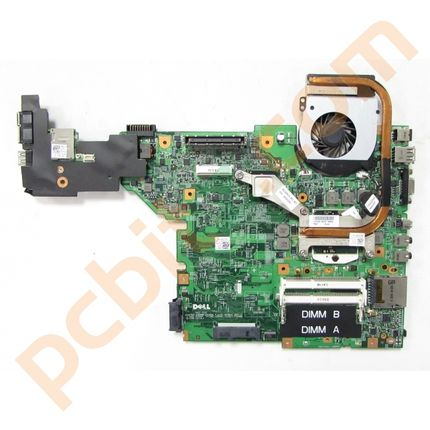 Dell Latitude E5410 Motherboard With i3 M370 @ 2.4GHz Heatsink and Fan 59DMW