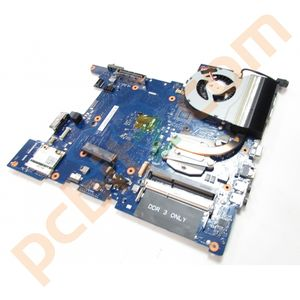 Samsung 400B Laptop Motherboard with i3-2310M Heatsink Fan BA92-07937A NP400B