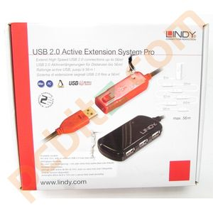 Lindy 12m USB Active Extension System Pro (4 Port) 42783