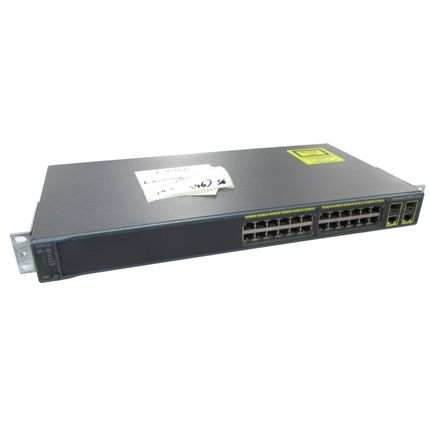 Cisco Catalyst WS-C2960-24TC-L V02 24 Port 10/100 Ethernet Switch